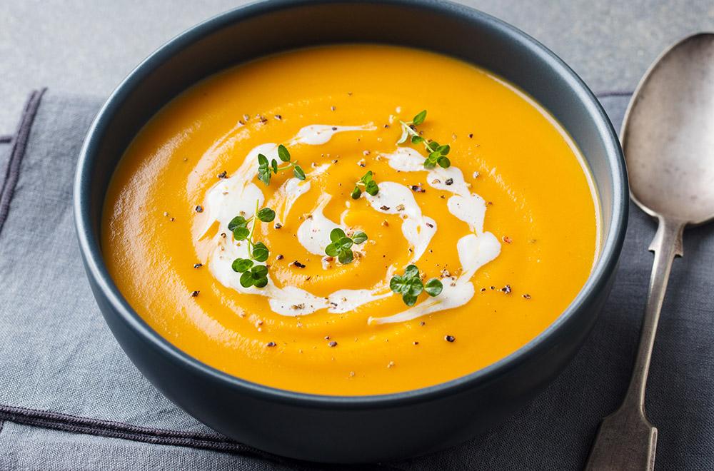 Zupa krem zdyni imarchewki
