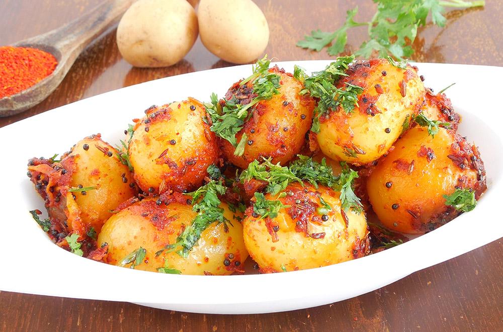 Ziemniaczane Curry